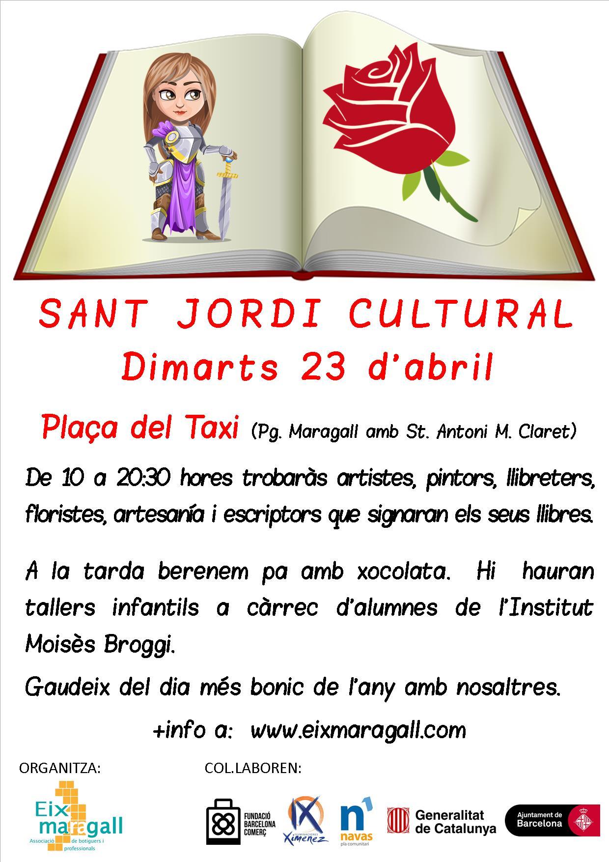 Sant Jordi Cultural 2019
