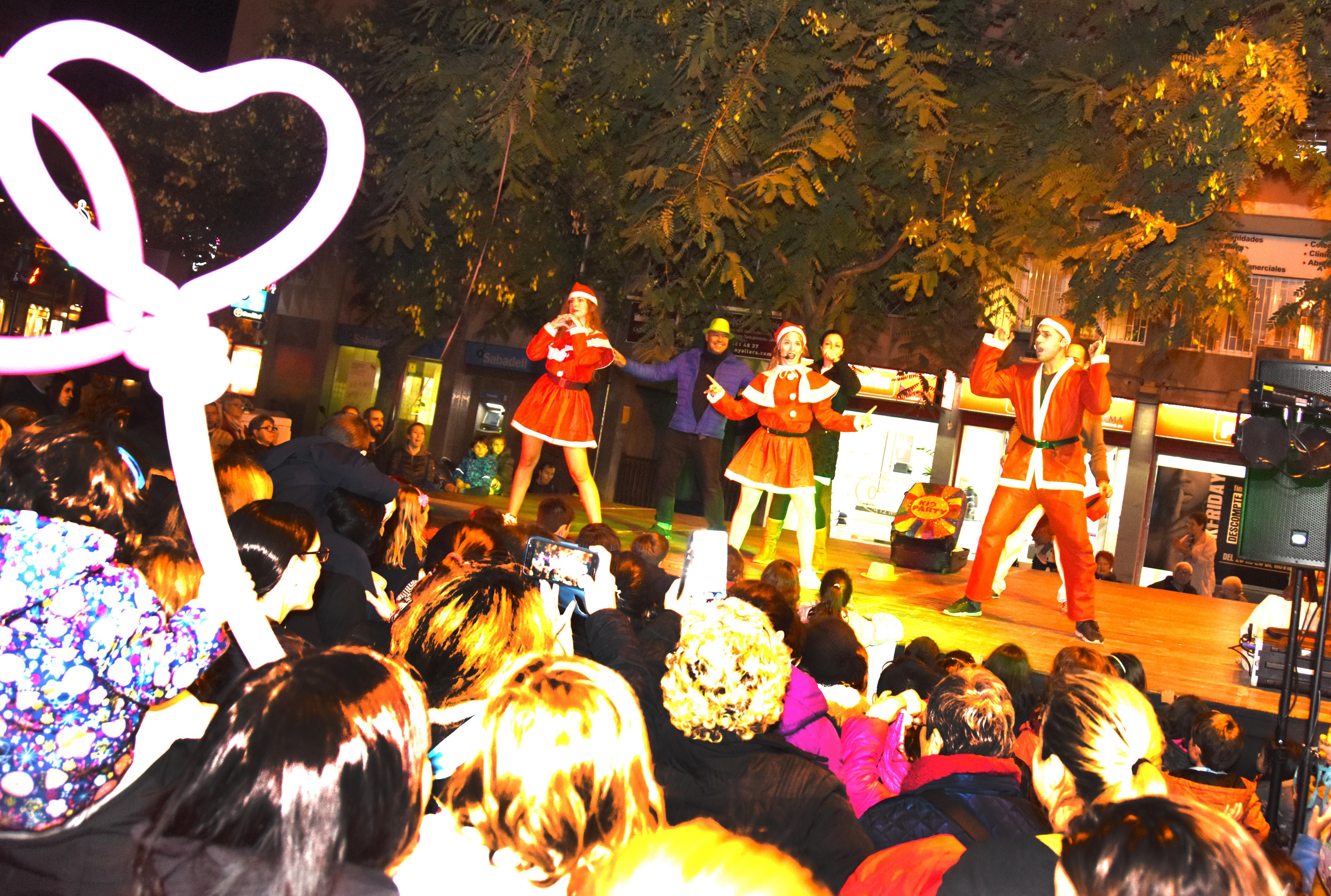 Gran Festa d'encesa de llums de Nadal