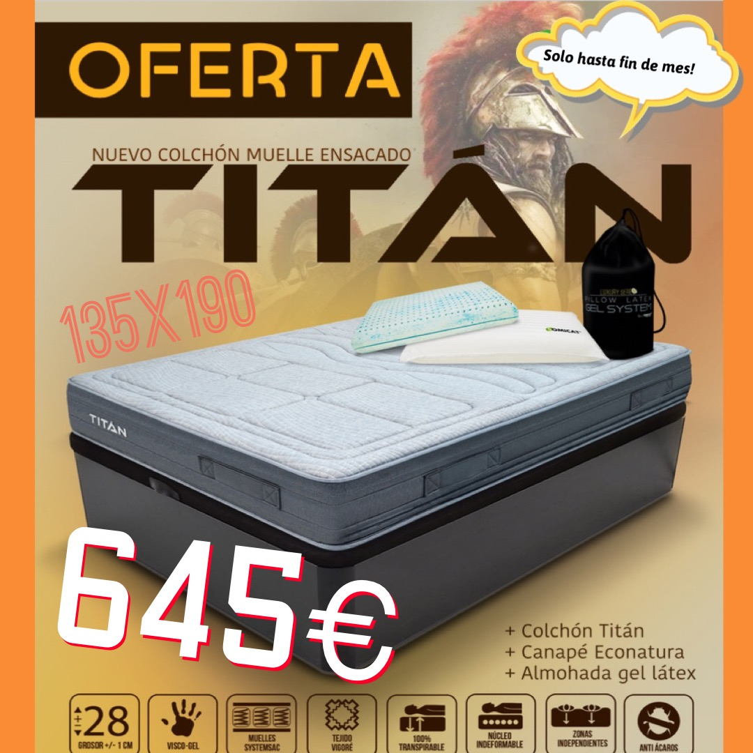 Gran oferta matalàs Titán