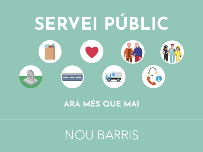 El Punto de Atención a la Actividad Económica de Nou Barris mantiene el asesoramiento a emprendedores, autónomos y empresas